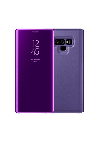 detailed pictures 0ef7e 87506 Clear Flip View Standing Cover for Samsung Galaxy Note 9