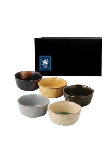 Tsuru TSURU 92-56-43 5pc Japanese Pickle Bowl Set C5FE0HL1CB8764GS_1