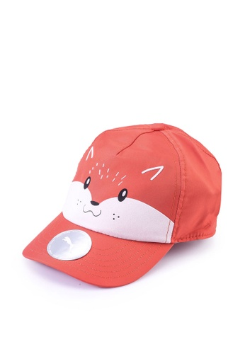 Puma red Animal Kids' Baseball Cap D8C1BKC266FFF7GS_1