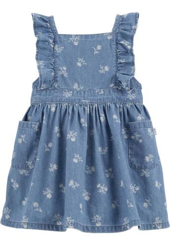 Oshkosh B'gosh multi OSH KOSH Girl Floral Chambray Dress C142DKA113348CGS_1