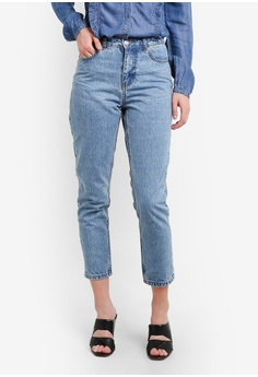 ONLY ONE Fanny Mom Jeans
