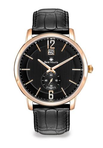 René Mouris black and multi Executive - 44mm Classic Quartz Watch 030BAACC97F287GS_1