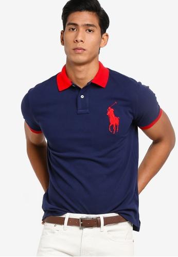 Fit Mesh Basic Shirt Custom Slim Polo F3u1JcTlK