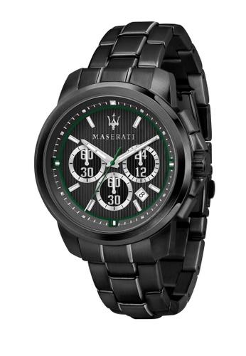 Royale Quartz Watch R8873637004 Black Stainless Steel Strap