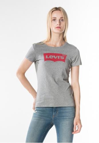 Levi's grey Levi's Slim Crewneck Tee LE843AA0GC52SG_1