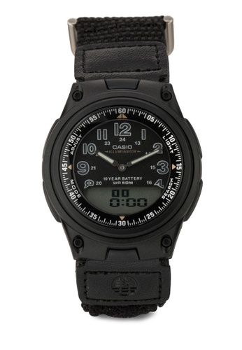 Casio black CASIO Watch AW-80V-1B Men's International Model CA843AC34OKNMY_1