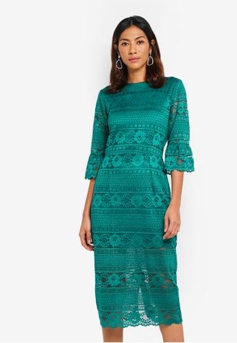 OVS green Women's Woven Dress 6DEBCAADA3E115GS_1