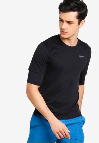 Nike black As M Nike Brthe Rise 365 Ss Top 74E88AA98E1E68GS_1