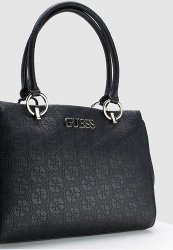 9e6facabbf0e Buy Guess Heritage Pop Large Girlfriend Satchel Bag Online