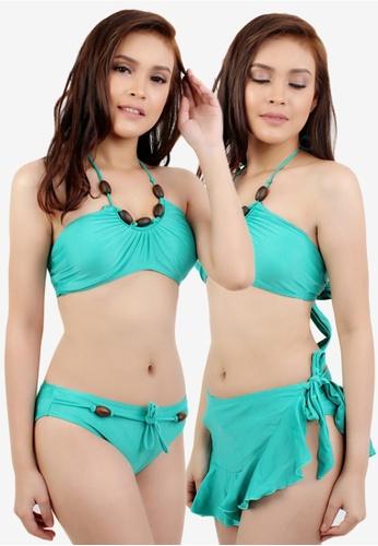 OOTD green Sexy Emerald Green Two Piece Bikini 228FAUS1871AA5GS_1