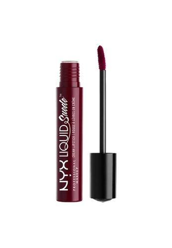 NYX Professional Makeup red NYX Professional Makeup Liquid Suede Cream Lipstick - VINTAGE 4F34ABE92F8C0EGS_1