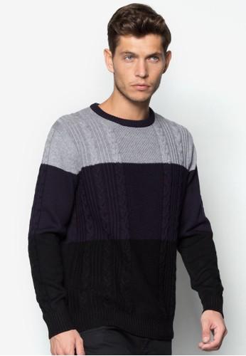 三色針esprit outlet 台灣織長袖衫, 服飾, 外套