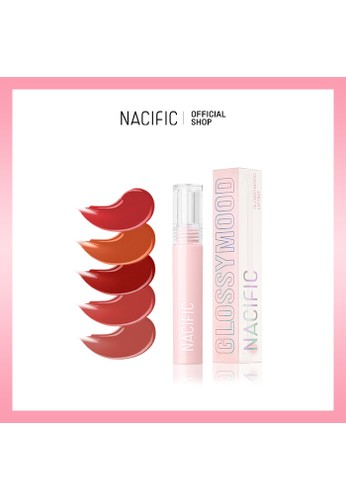 Nacific pink Nacific Glossy Mood Lip Tint - Silky Fig F2255BEA4CEC21GS_1