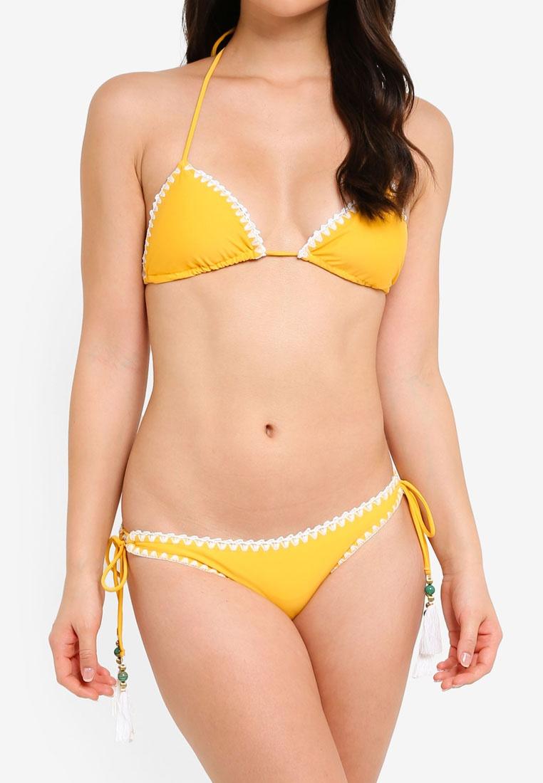 Bikini Yellow Set Yshey Boho Betsy Romantic qUxgx4Fwp