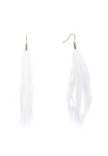 ALDO white Ulauni Earrings A8EA0AC40F4A1FGS_1
