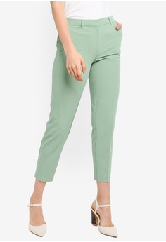 ec9710d88f Dorothy Perkins green Mint Split Hem Ankle Grazer Pants 08211AACA55239GS_1