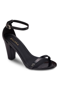 High Heel Sandals With Ankle Strap