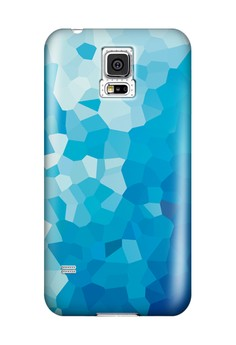 Stained Glass Glossy Hard Case for Samsung Galaxy S5