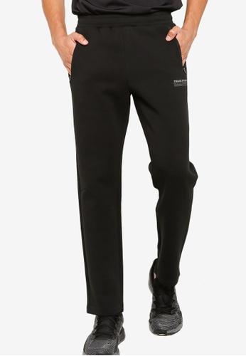361° black Cross Training Knit Pants C2EDAAA03DCCFBGS_1