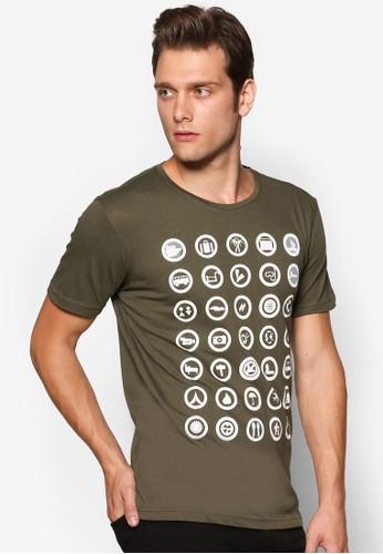 旅遊標誌圖案TEE, 服飾esprit服飾, 印圖T恤