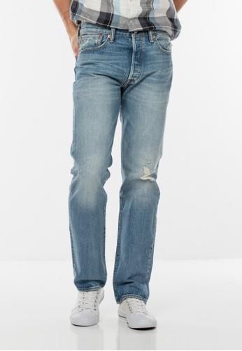 Levi's blue 501® Original Fit Jeans LE843AA0FFF8SG_1