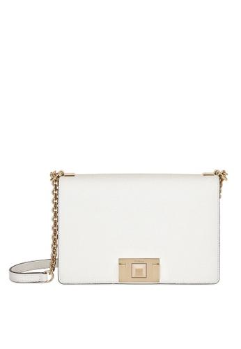 Furla white Mimi Crossbody Bag 8DE66ACCEA87AEGS_1