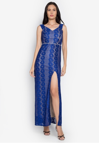 Rated E Fashion blue Maegan Dress RA951AA0KNM5PH_1