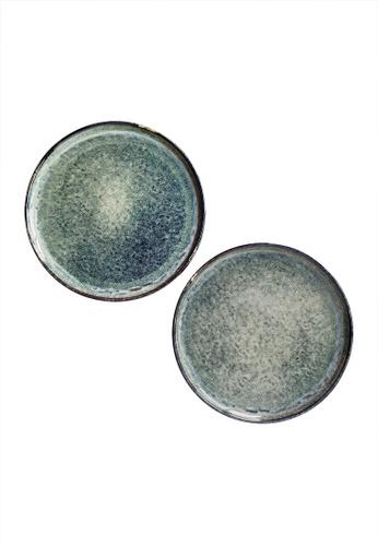 Your Lagom blue Turquoise Ocean Plate 90455HL8E13C73GS_1