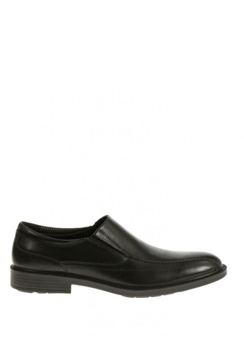 Hush Puppies black Indiana Banker  Waterproof Dress Casual Shoes 299D0SH686E09FGS_1