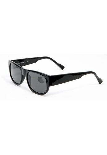 Sensolatino Eyewear Sensolatino Eyewear Made In Italy Mod. Volta Polished Black Frame With Black Lenses A83E9GL4B50929GS_1