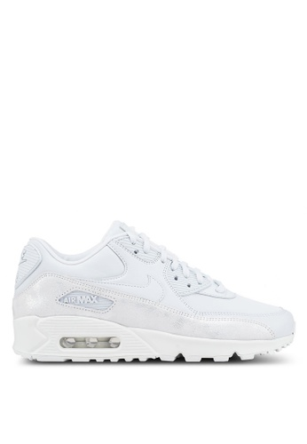 Nike grey Womens Nike Air Max 90 Premium Shoes 94F95SH5C0A078GS1