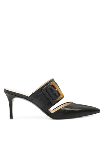 Nine West black NWMARITERASE Pointy Toe Mules 3FB22SH4A5D9ECGS_1