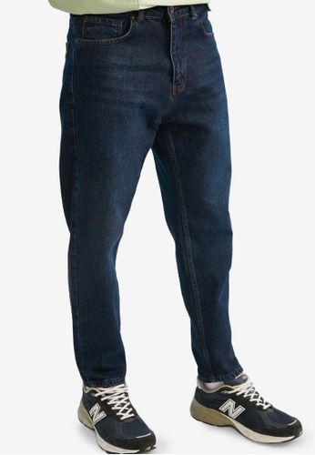 Trendyol navy Slim Fit Cropped Jeans 147E0AA391CE09GS_1