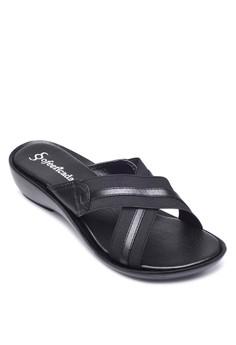 Black Wedge Slide