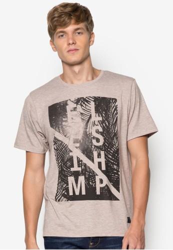 度假風純棉Tesprit台灣EE, 服飾, 印圖T恤