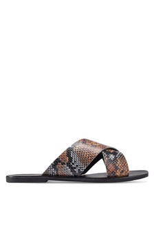 52424c6b755b Snake Design Sandals 79725SHE738DB7GS 1
