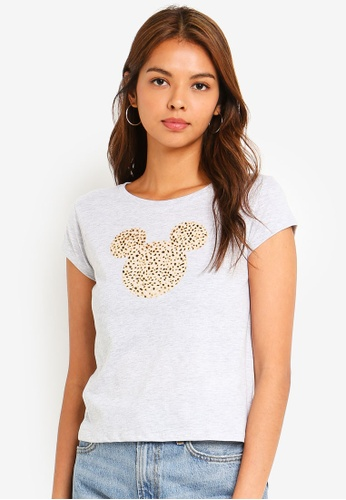 Cotton On silver Tbar Rachael Graphic Tee Shirt 00793AAB3F1E86GS_1