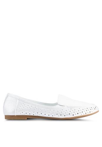 BETSY 白色 紫色 平底鞋 206CESHC0C6F4AGS_1