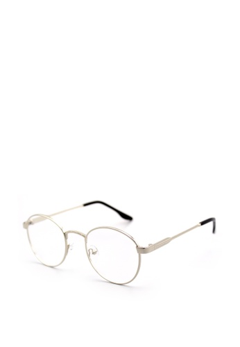 9c45ee1a36 Peculiar and Odd silver Vintage Style Round Clear Glasses 016  PE789GL88BNZPH 1