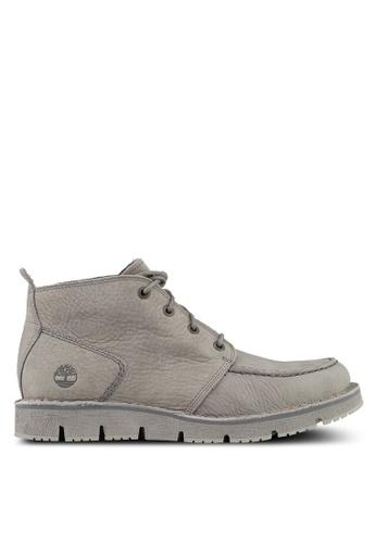 Timberland grey Westmore Moc Toe Chukka Boots 2E2FESHE522C2BGS_1
