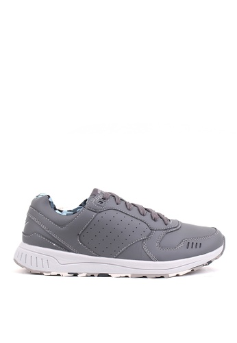 World Balance grey Maxwell Men's Sneakers 5EAAFSHA2C230DGS_1