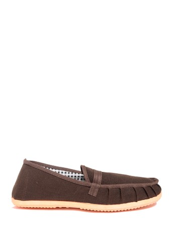Dr. Kevin black Dr. Kevin Men Casual Slip On 9306 - Brown DR982SH0UQO1ID_1