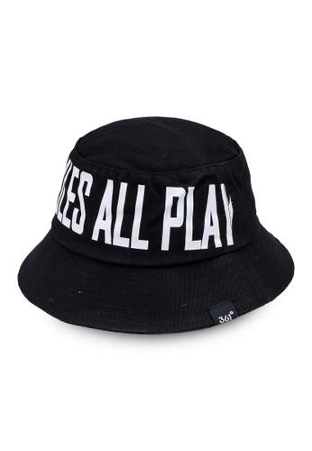 361° black Tour Bucket Hat E8AD4KCAD06CE6GS_1