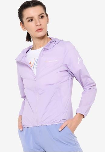 361° purple Cross Training Windbreaker Jacket 0238AAAEE98388GS_1