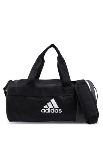 adidas black adidas 3-stripes convertible xs duffel bag 92B28AC34C7686GS_1