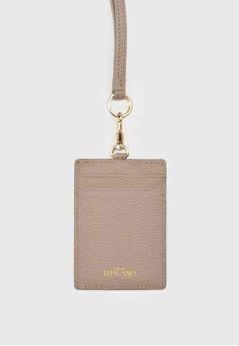 Tocco Toscano grey Aimee Cardholder with Lanyard (Grey) 81285ACEEEFD39GS_1
