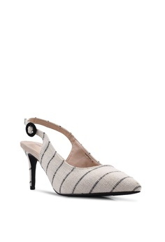a66fe4e250 Nose Stripes Slingback Heels S$ 46.90. Available in several sizes