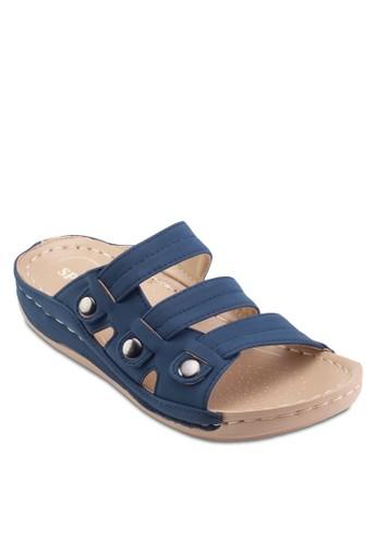 仿皮多帶涼鞋,esprit 台北 女鞋, 涼鞋