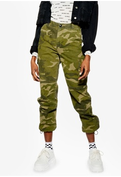 d215b367fba TOPSHOP brown Petite Combat Camouflage Trousers ECE66AA5BF04DEGS_1