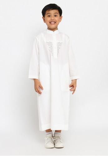 Arafah white Gamis Pria Anak 02 F89D5KAF581487GS_1
